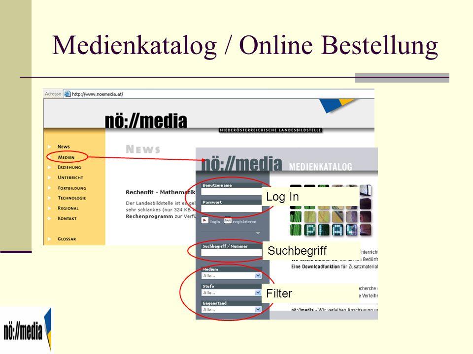 Medienkatalog / Online Bestellung