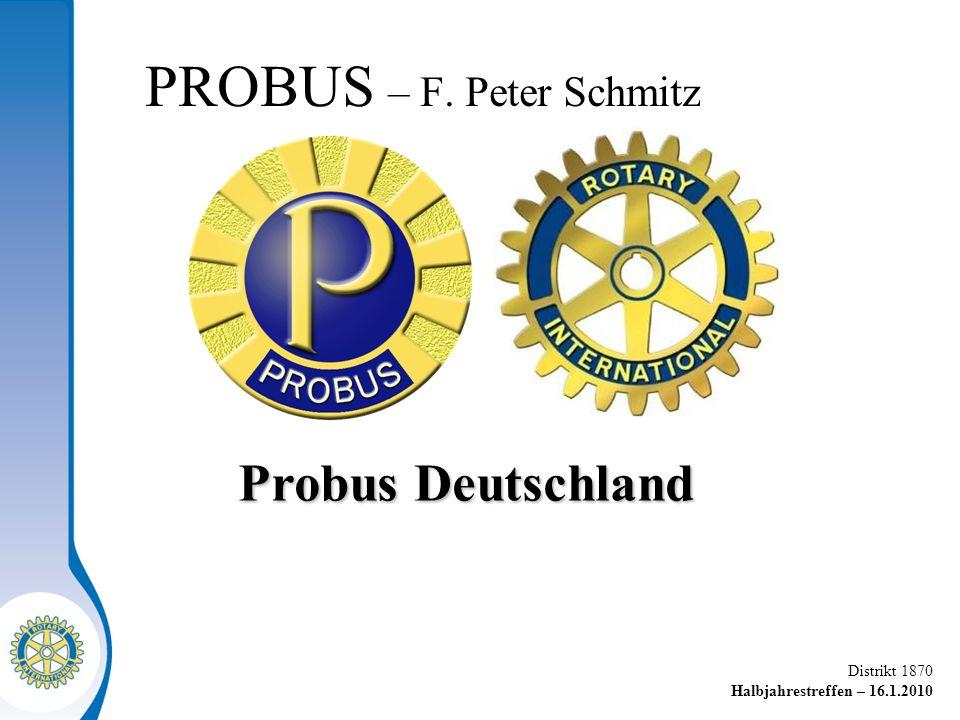 PROBUS – F. Peter Schmitz