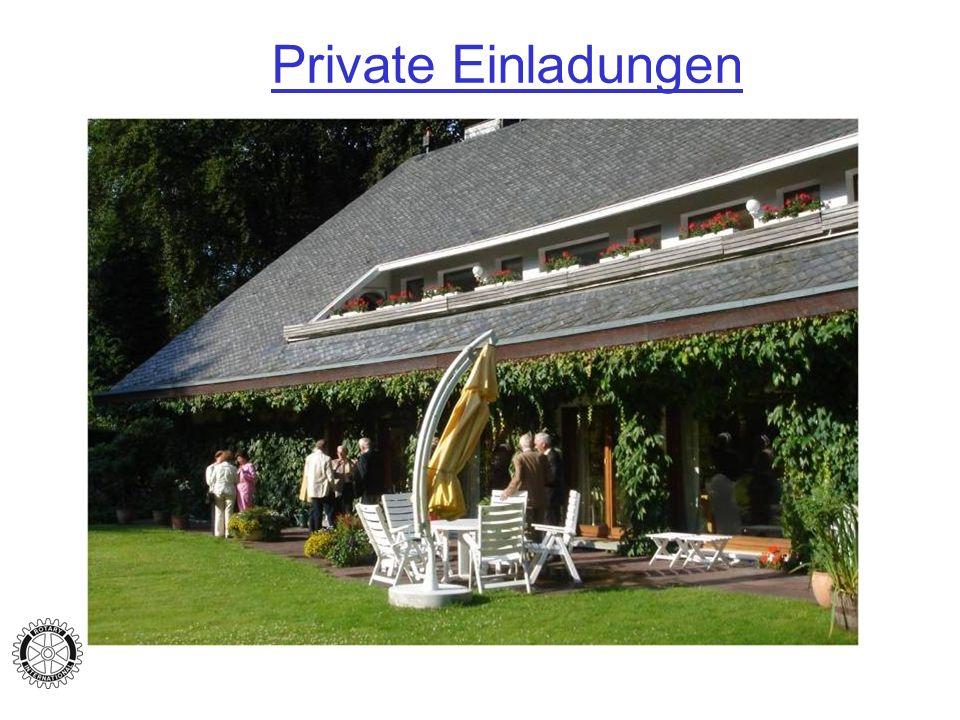 Private Einladungen