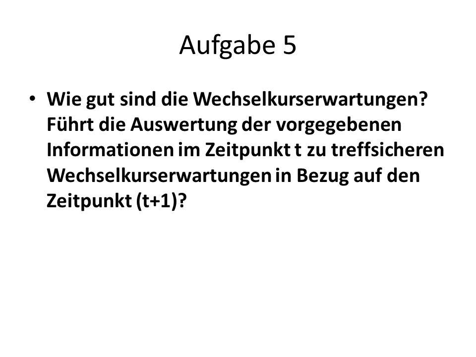 Aufgabe 5