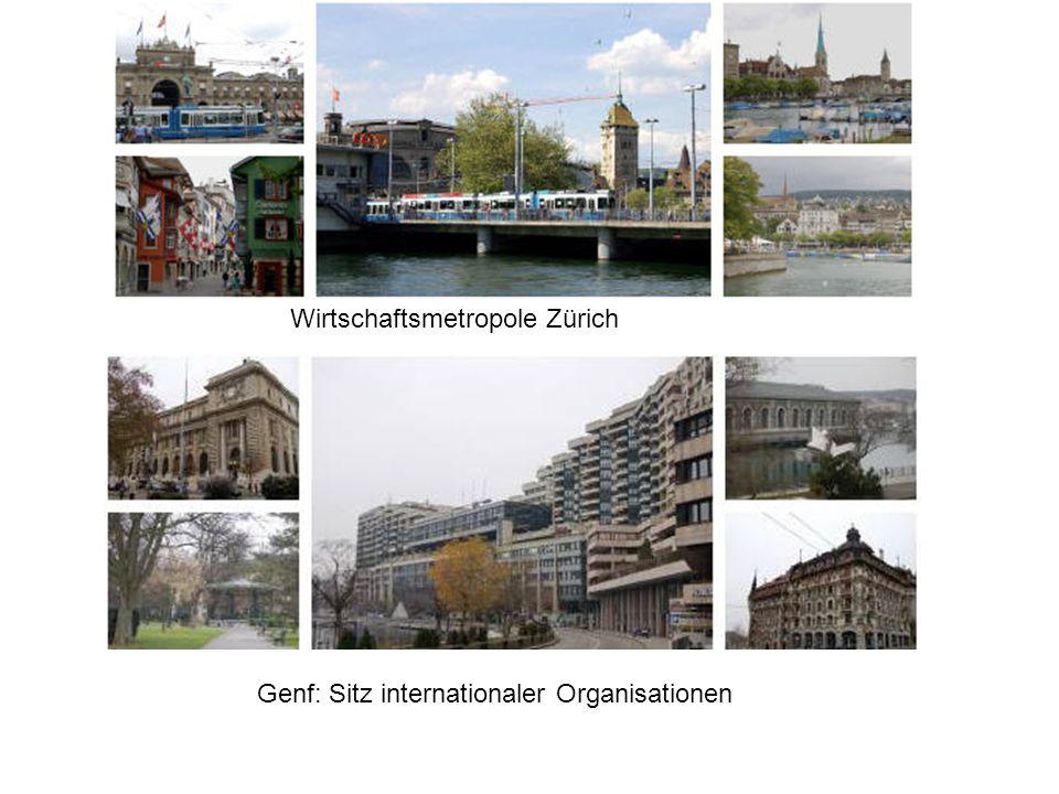 Wirtschaftsmetropole Zürich
