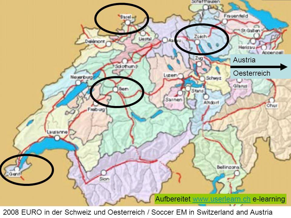 Austria Oesterreich 2008 EURO in der Schweiz und Oesterreich / Soccer EM in Switzerland and Austria