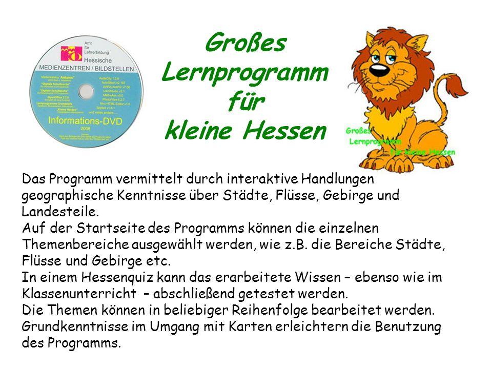 Großes Lernprogramm für kleine Hessen