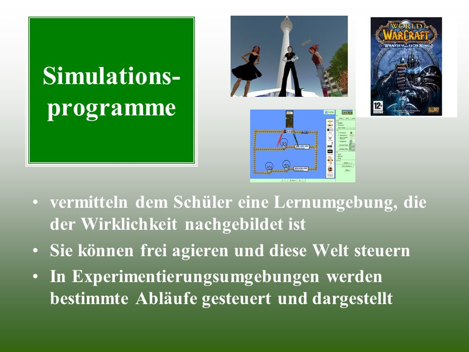 Simulations- programme