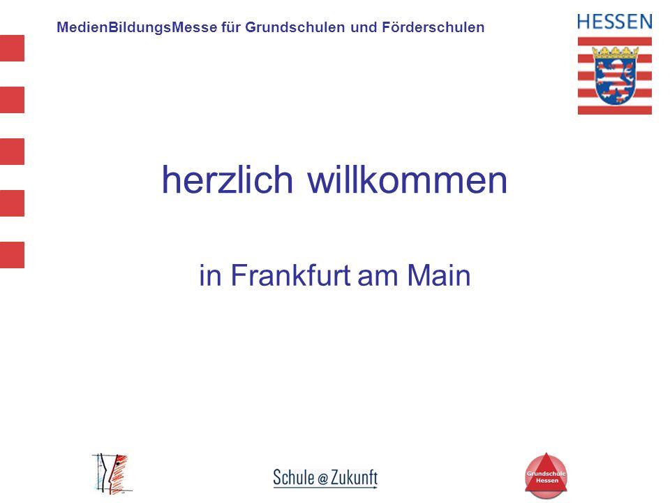 herzlich willkommen in Frankfurt am Main