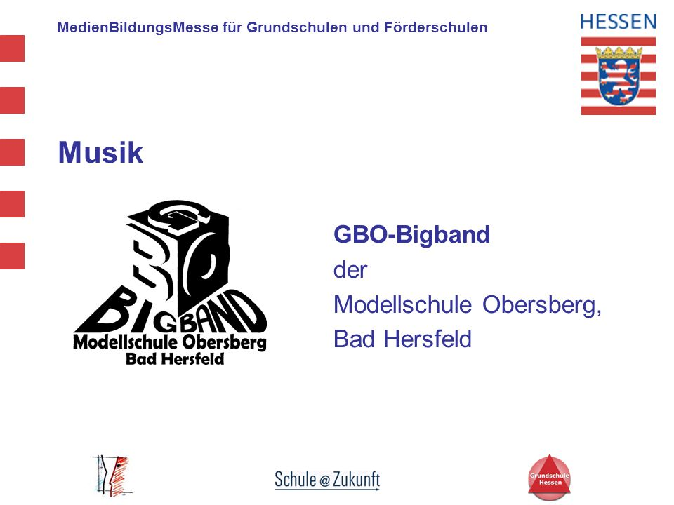 Musik GBO-Bigband der Modellschule Obersberg, Bad Hersfeld