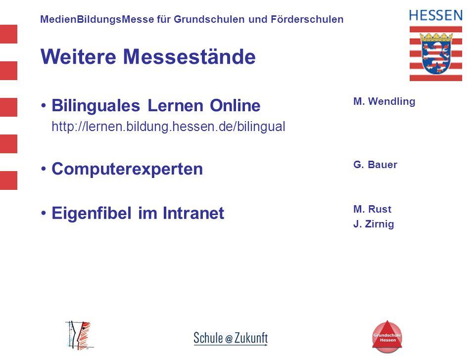 Weitere Messestände Bilinguales Lernen Online Computerexperten
