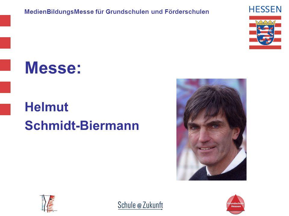 Messe: Helmut Schmidt-Biermann