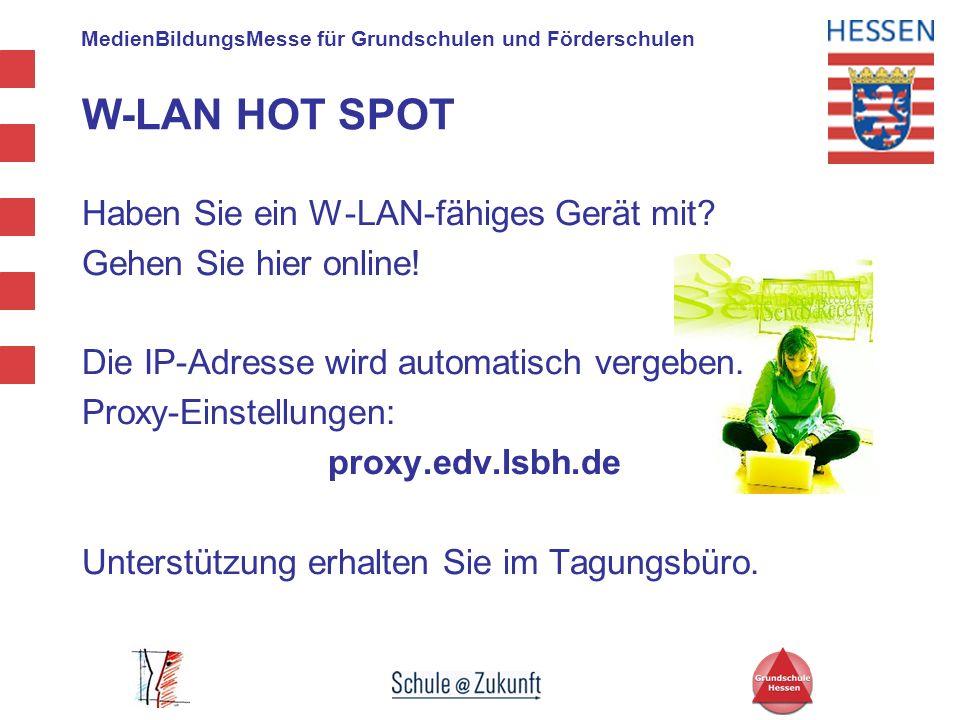 W-LAN HOT SPOT Haben Sie ein W-LAN-fähiges Gerät mit
