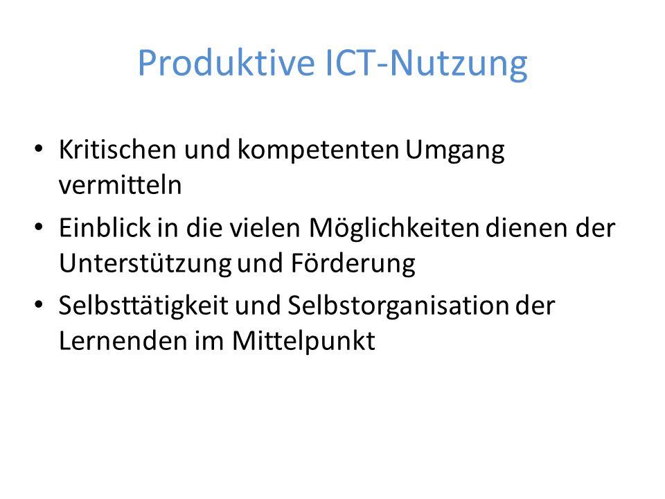 Produktive ICT-Nutzung