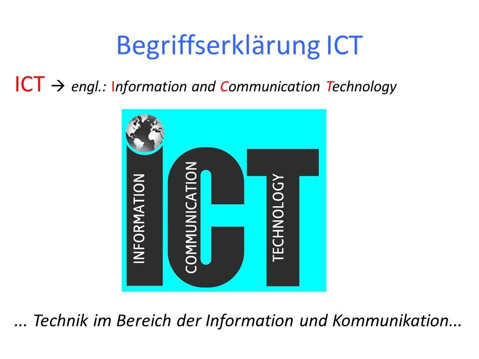 Begriffserklärung ICT