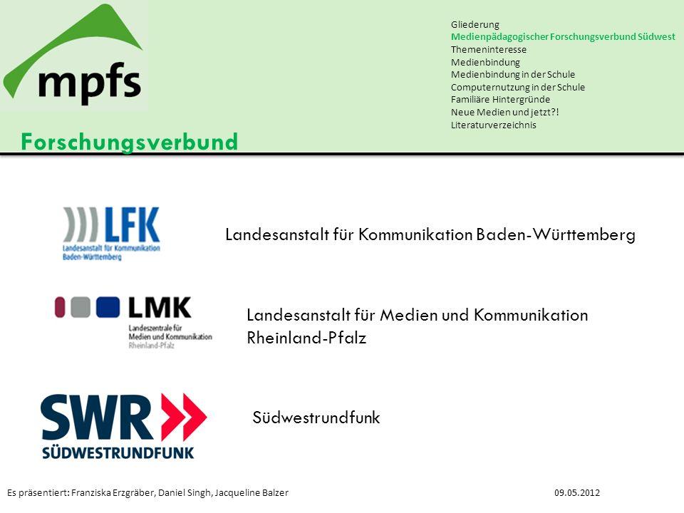 Forschungsverbund Landesanstalt für Kommunikation Baden-Württemberg