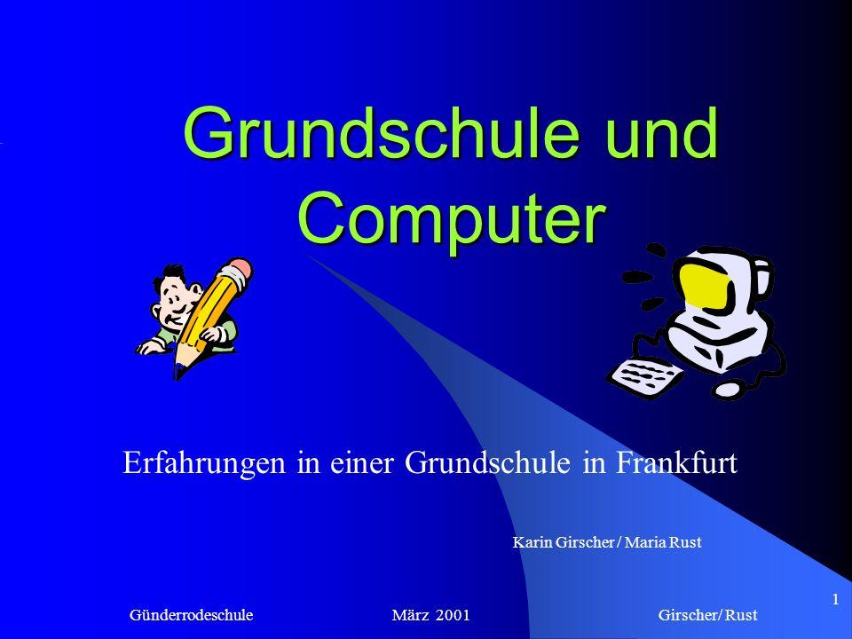 Grundschule und Computer