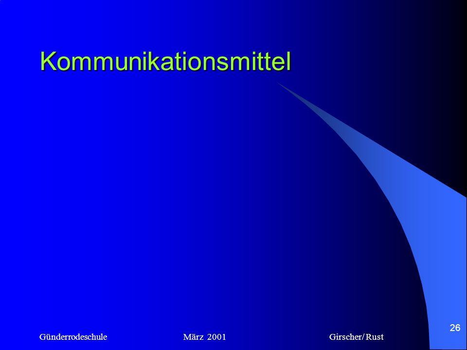 Kommunikationsmittel
