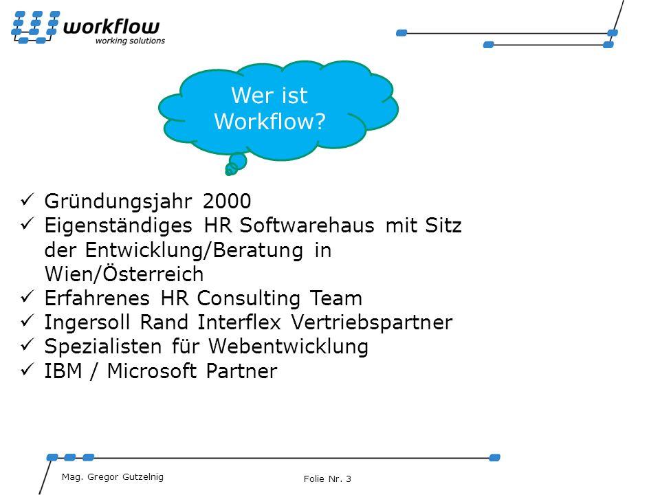 Wer ist Workflow Gründungsjahr 2000