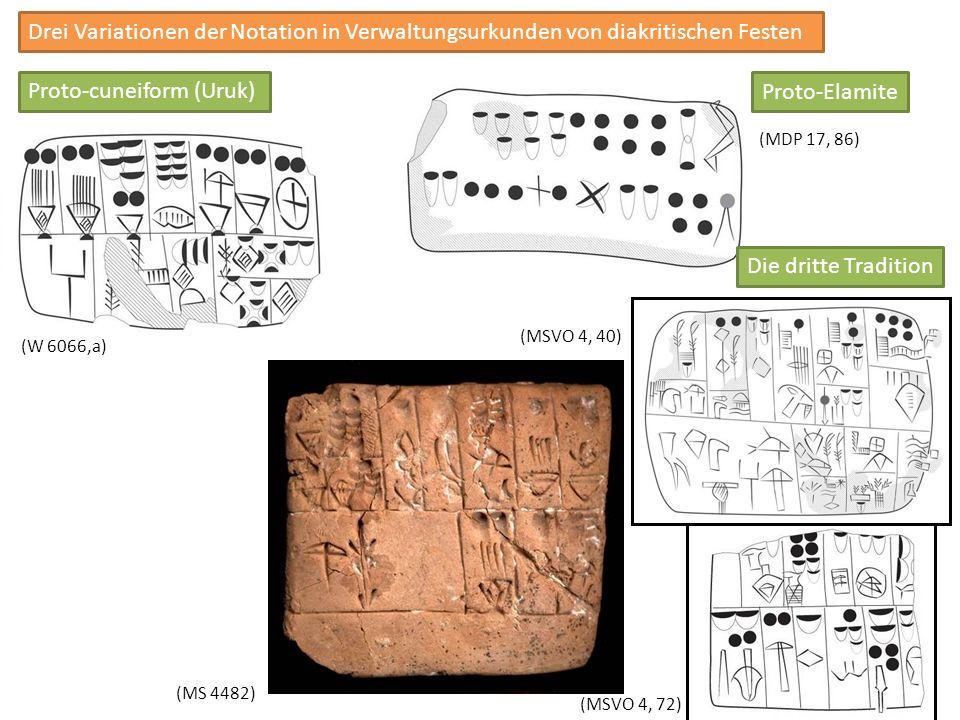 Proto-cuneiform (Uruk) Proto-Elamite