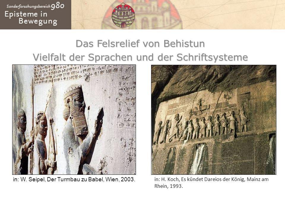 Das Felsrelief von Behistun