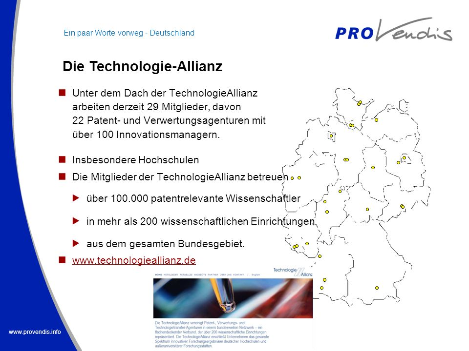 Die Technologie-Allianz
