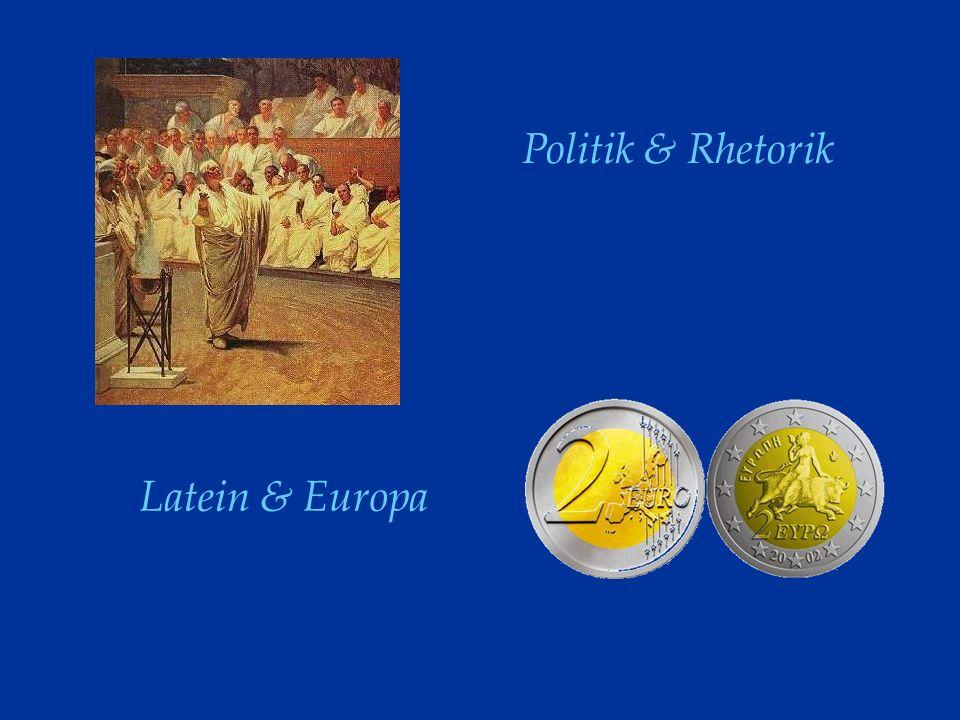 Politik & Rhetorik Latein & Europa
