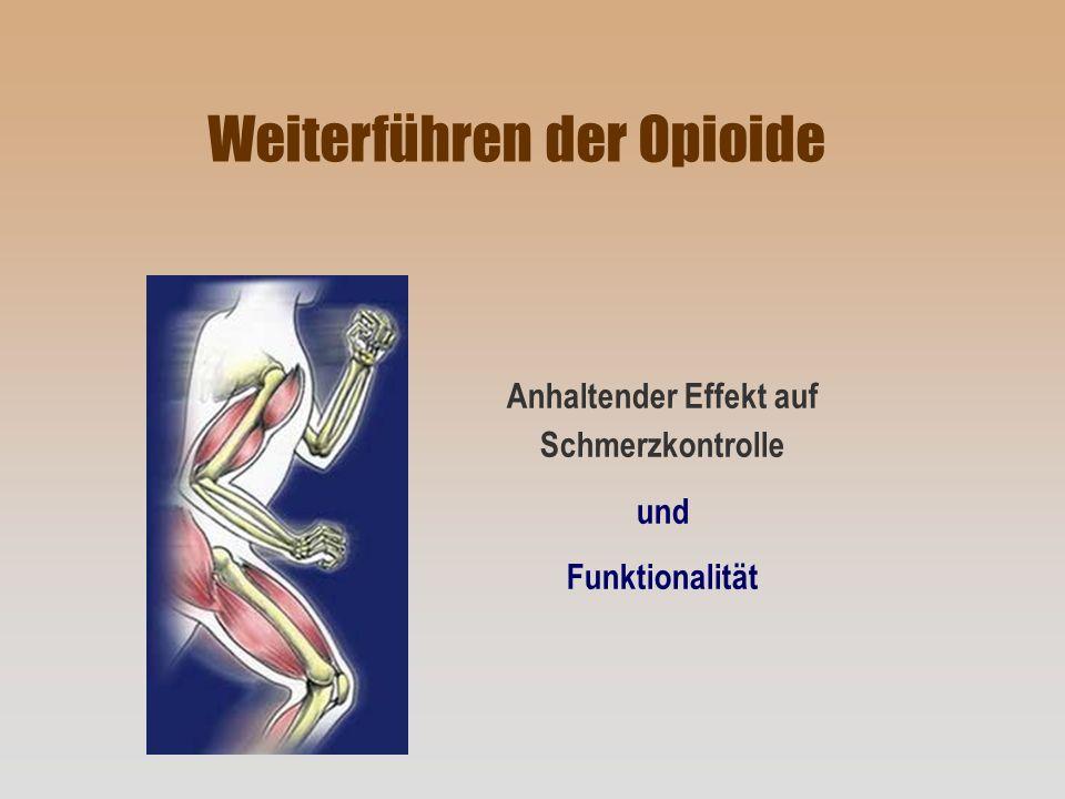 Anhaltender Effekt auf Schmerzkontrolle