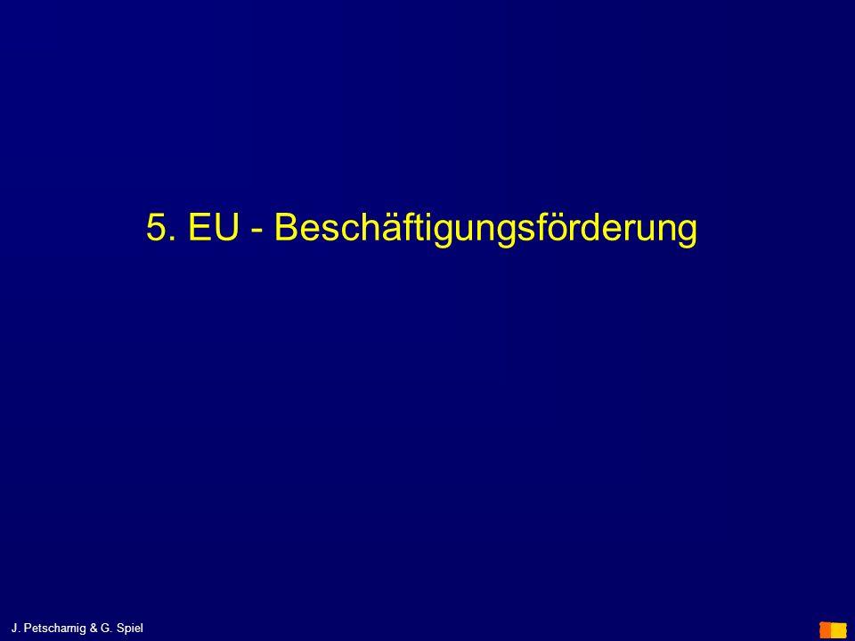 5. EU - Beschäftigungsförderung