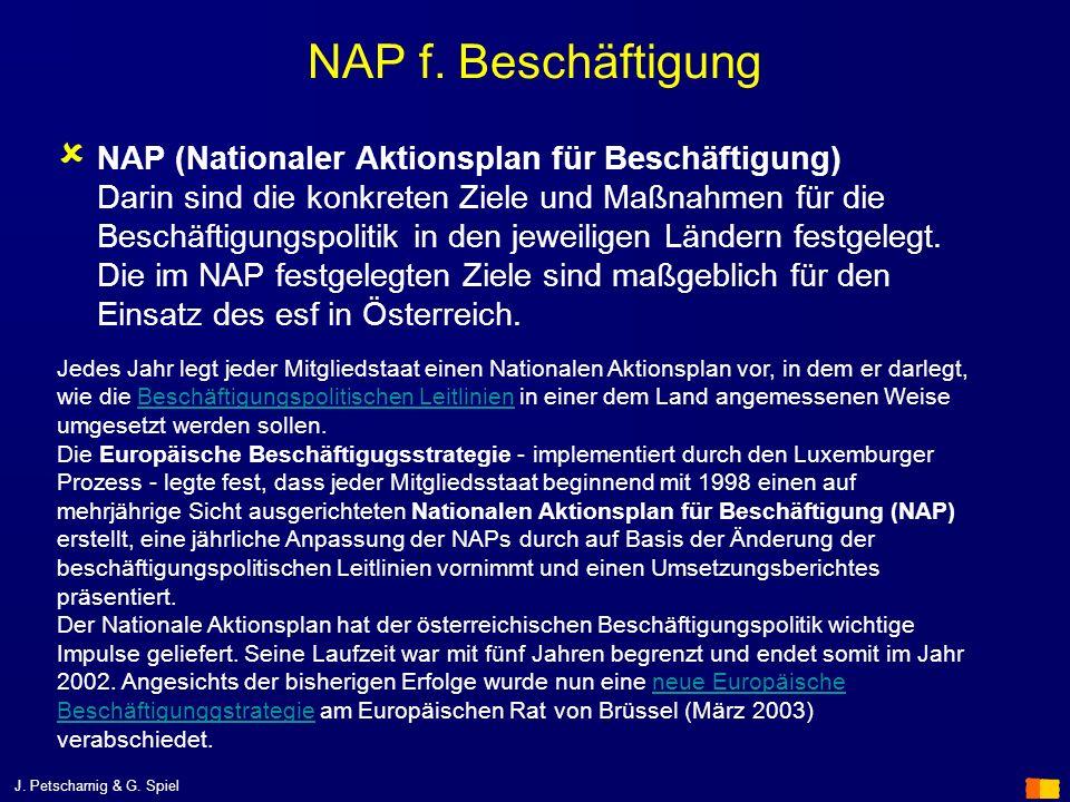 NAP f. Beschäftigung