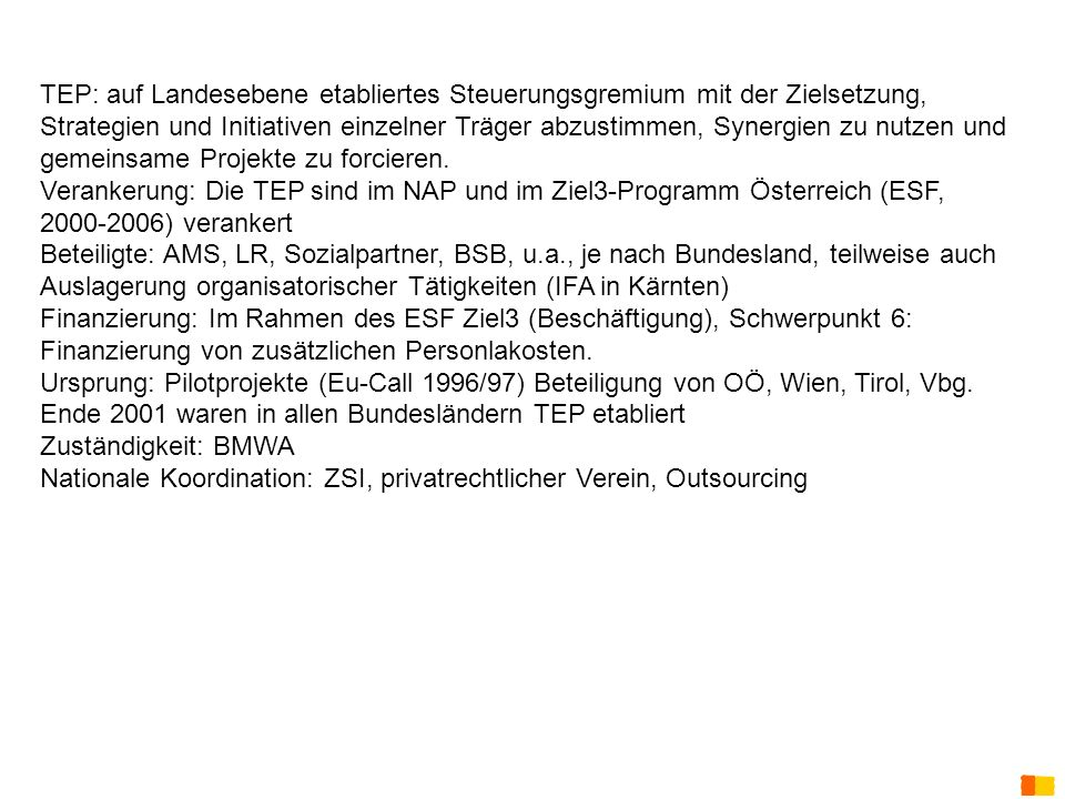 Nationale Koordination: ZSI, privatrechtlicher Verein, Outsourcing