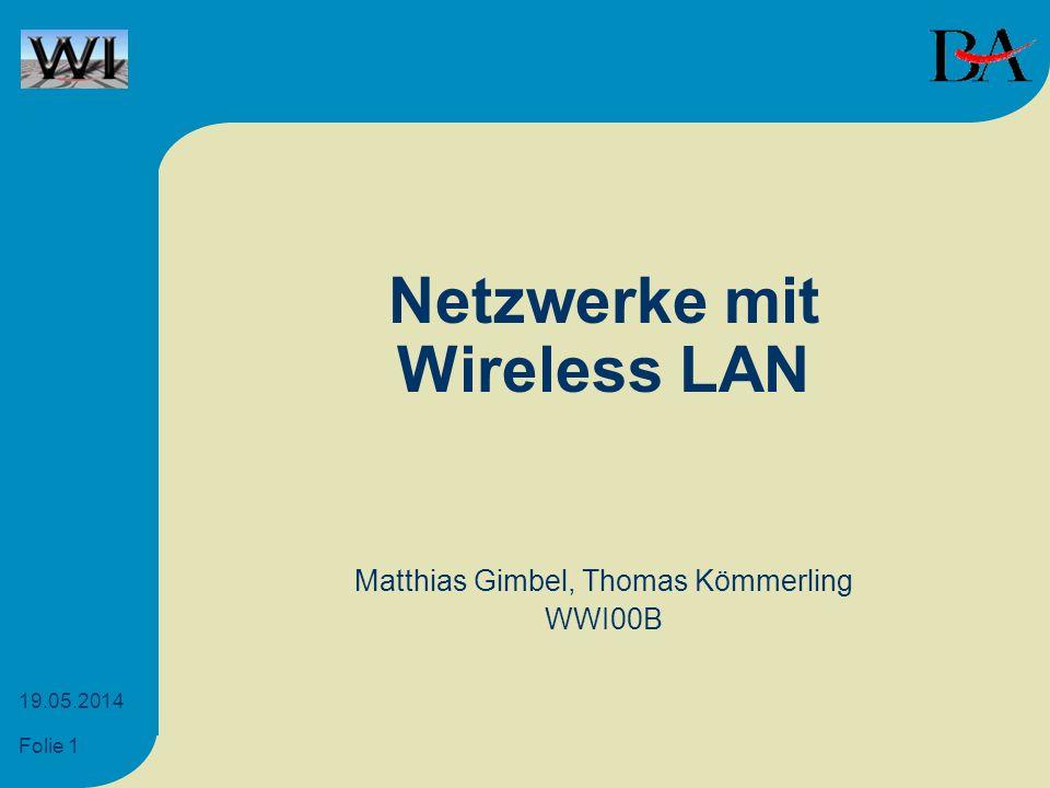 Netzwerke mit Wireless LAN