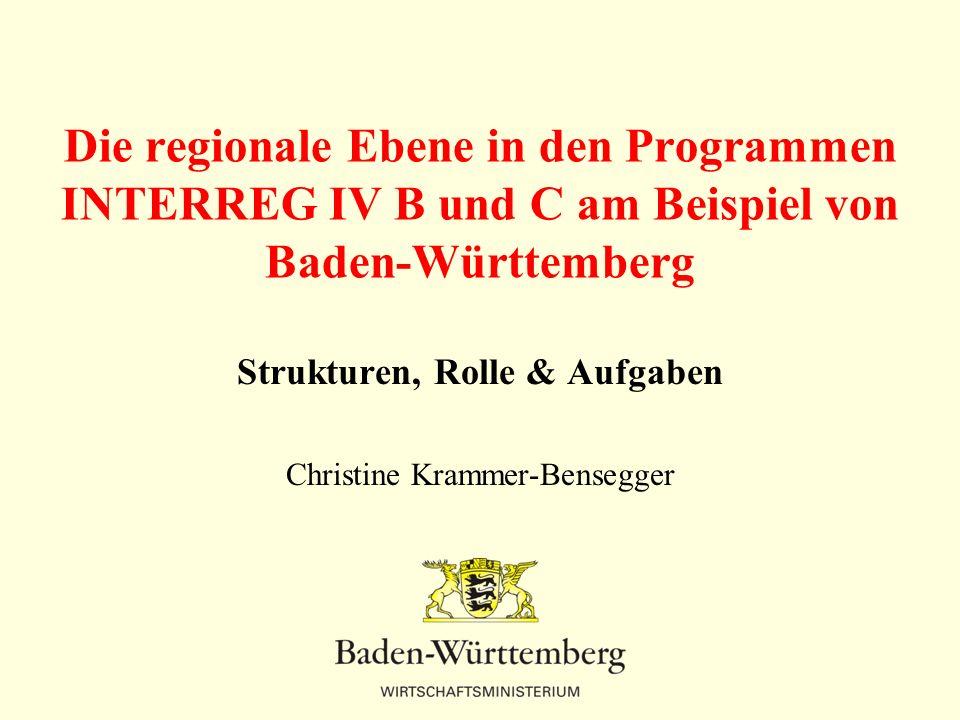 Strukturen, Rolle & Aufgaben Christine Krammer-Bensegger