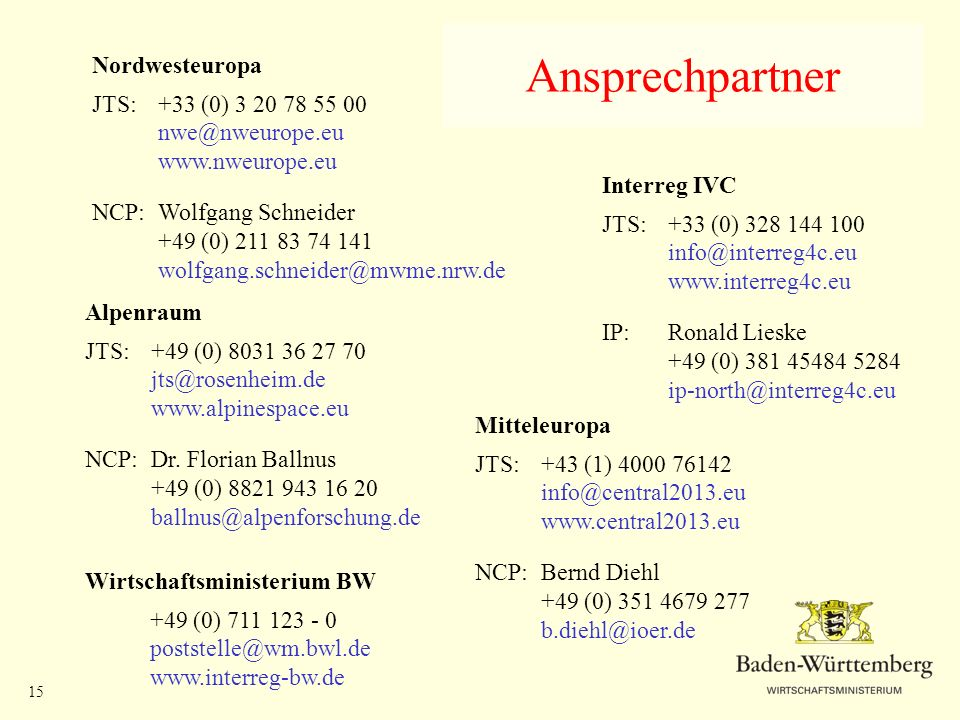 Ansprechpartner Nordwesteuropa JTS: +33 (0) 3 20 78 55 00