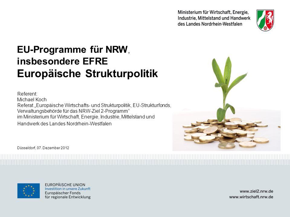 Europäische Strukturpolitik