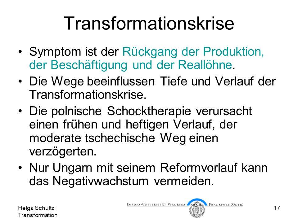 Transformationskrise