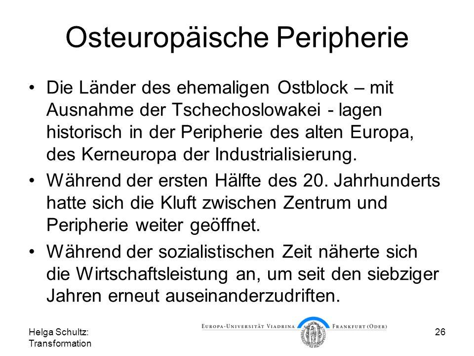 Osteuropäische Peripherie