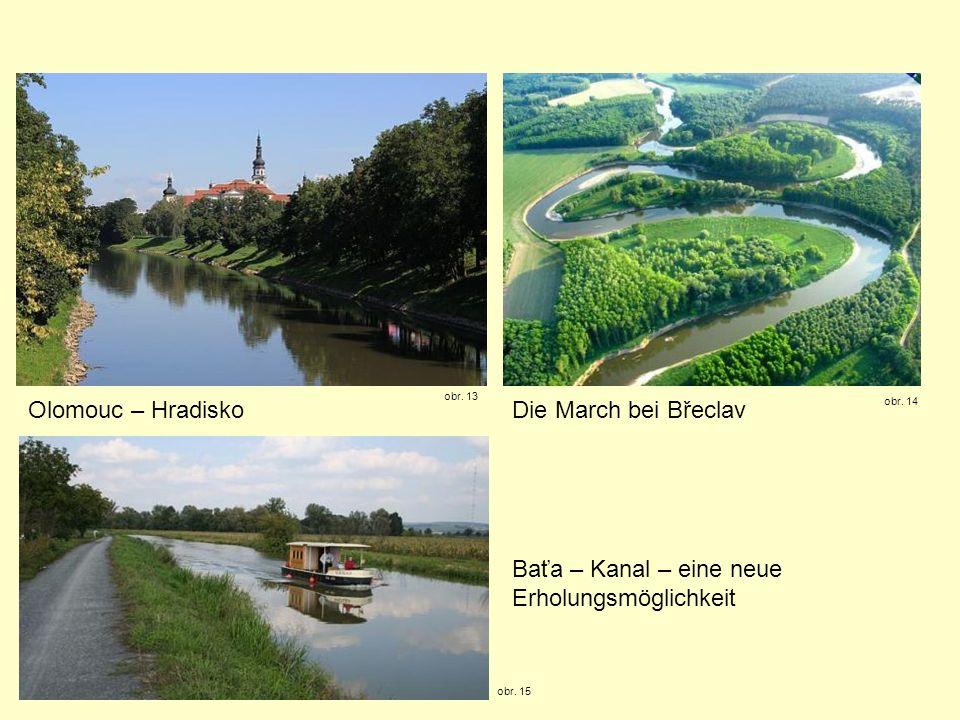 Baťa – Kanal – eine neue Erholungsmöglichkeit