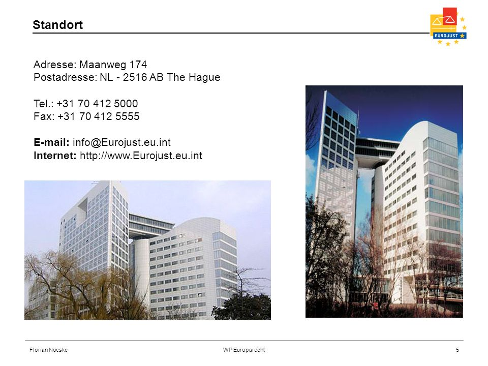 Standort Adresse: Maanweg 174 Postadresse: NL - 2516 AB The Hague