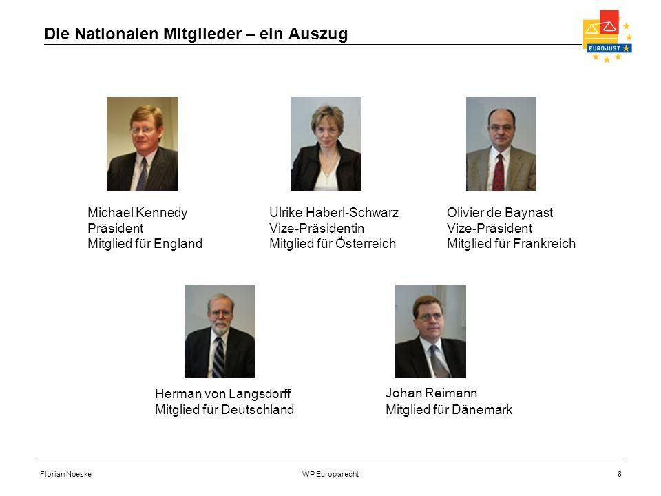 Die Nationalen Mitglieder – ein Auszug