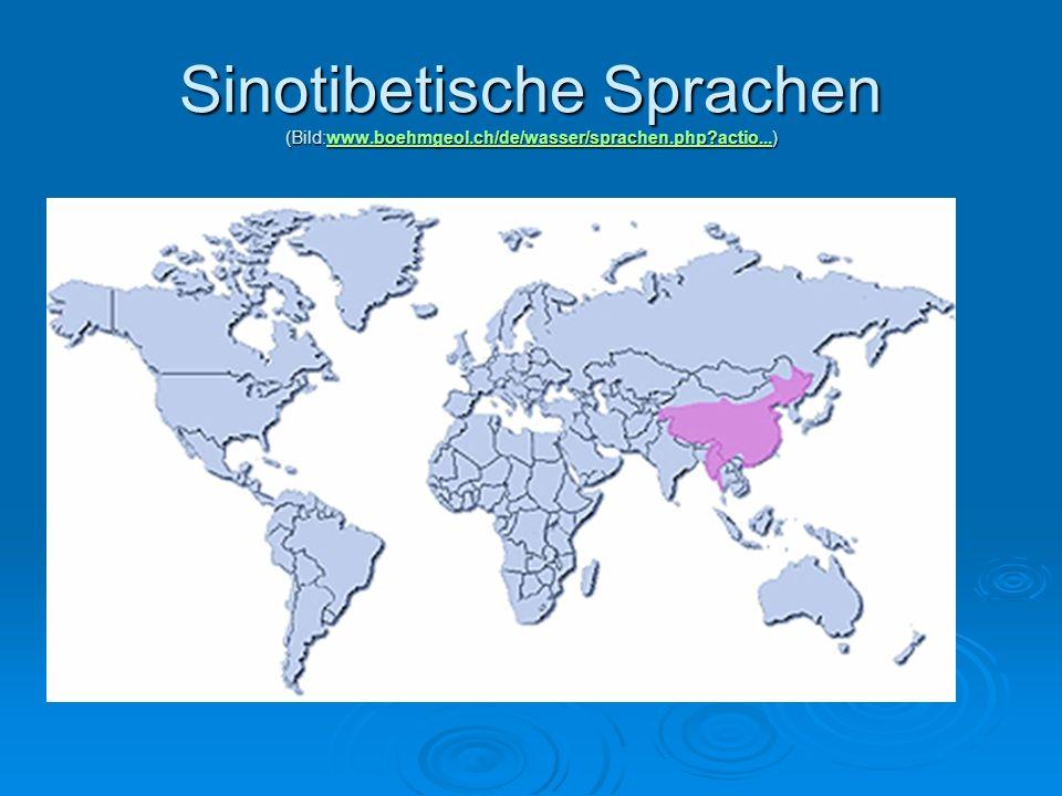 Sinotibetische Sprachen (Bild:www. boehmgeol. ch/de/wasser/sprachen