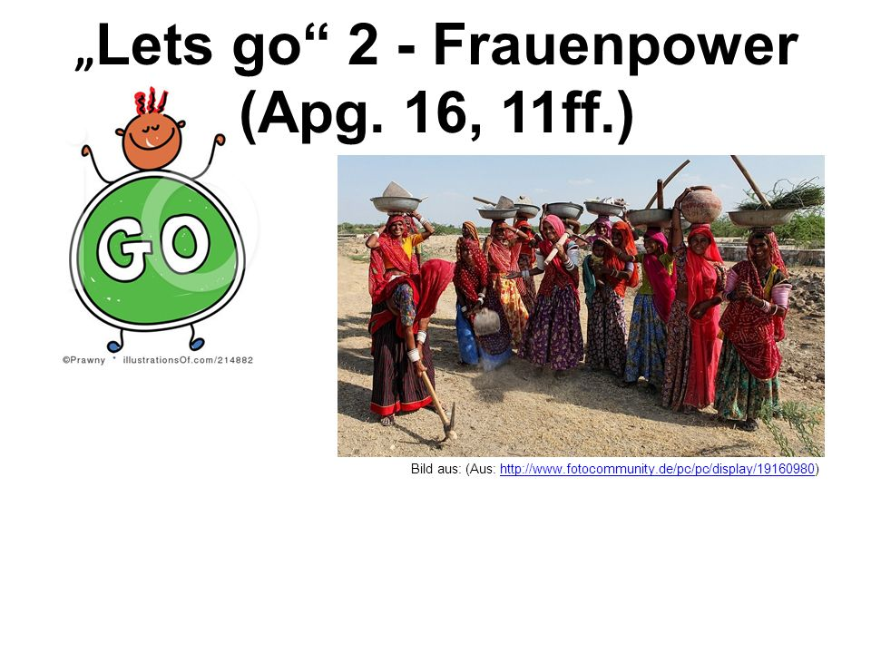 """Lets go 2 - Frauenpower (Apg. 16, 11ff.)"