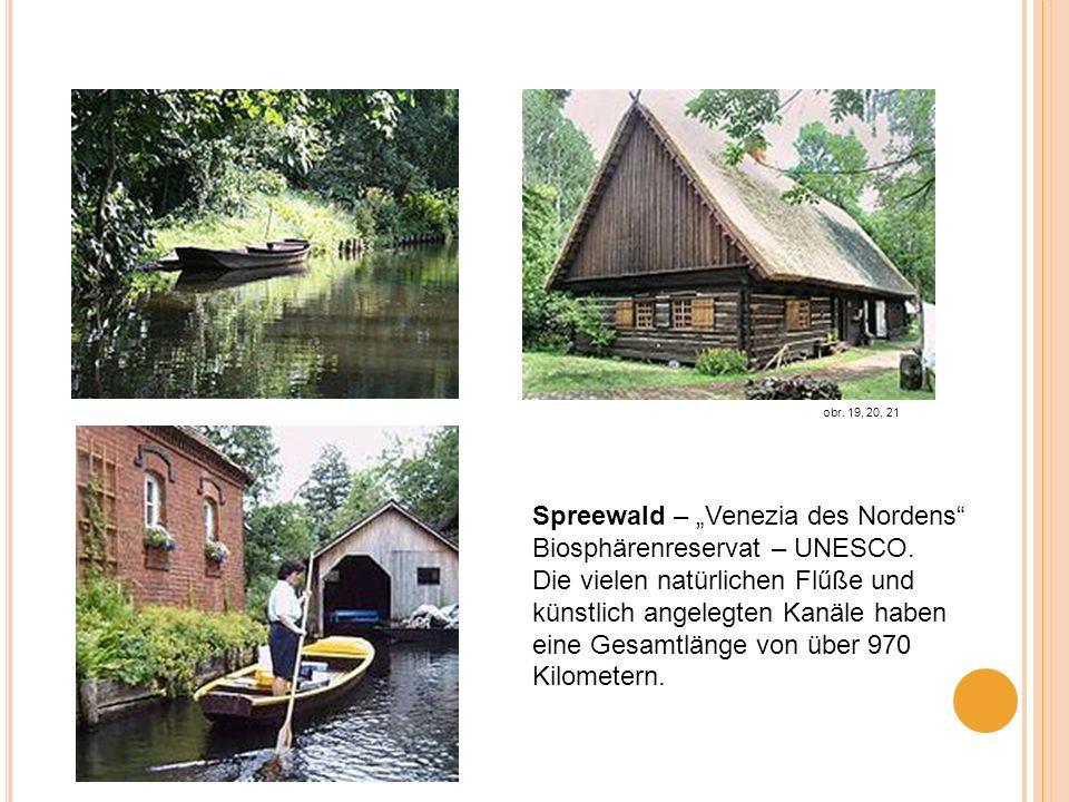 """Spreewald – """"Venezia des Nordens Biosphärenreservat – UNESCO."""