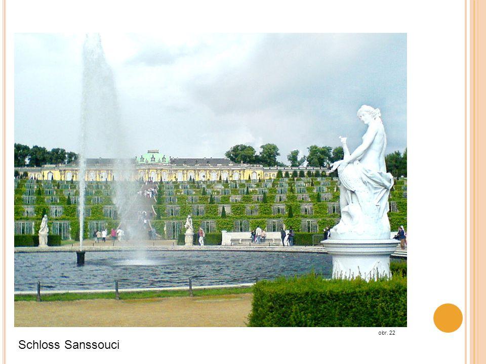 obr. 22 Schloss Sanssouci