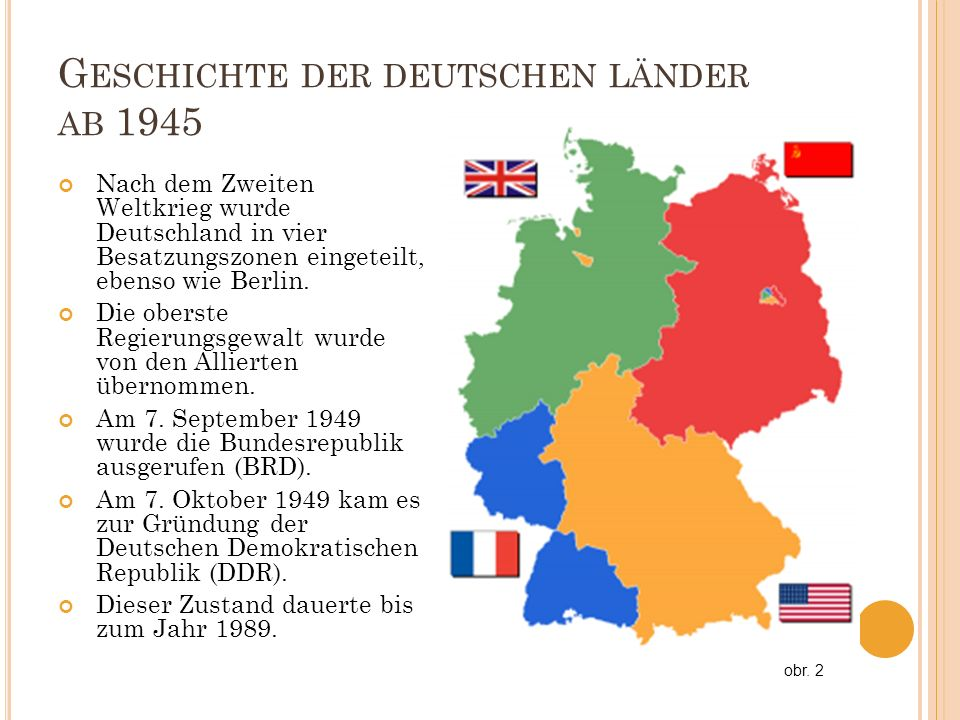 Geschichte der deutschen länder ab 1945