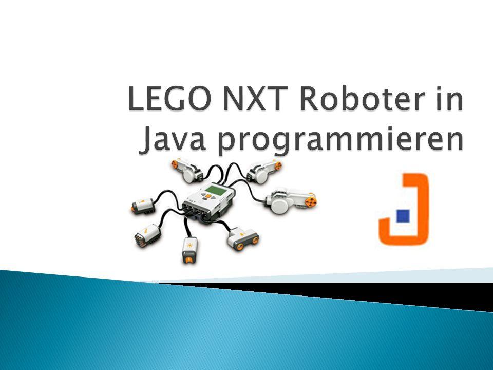 LEGO NXT Roboter in Java programmieren