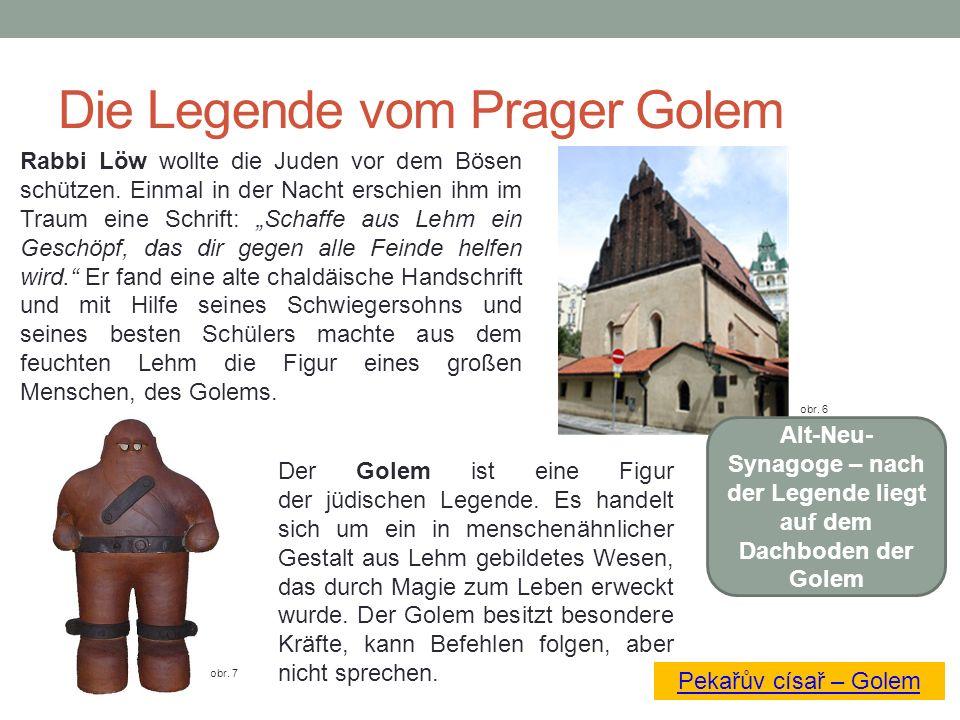 Die Legende vom Prager Golem