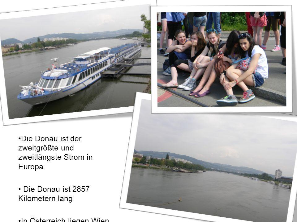 Die Donau ist der zweitgrößte und zweitlängste Strom in Europa