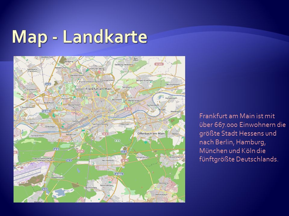 Map - Landkarte