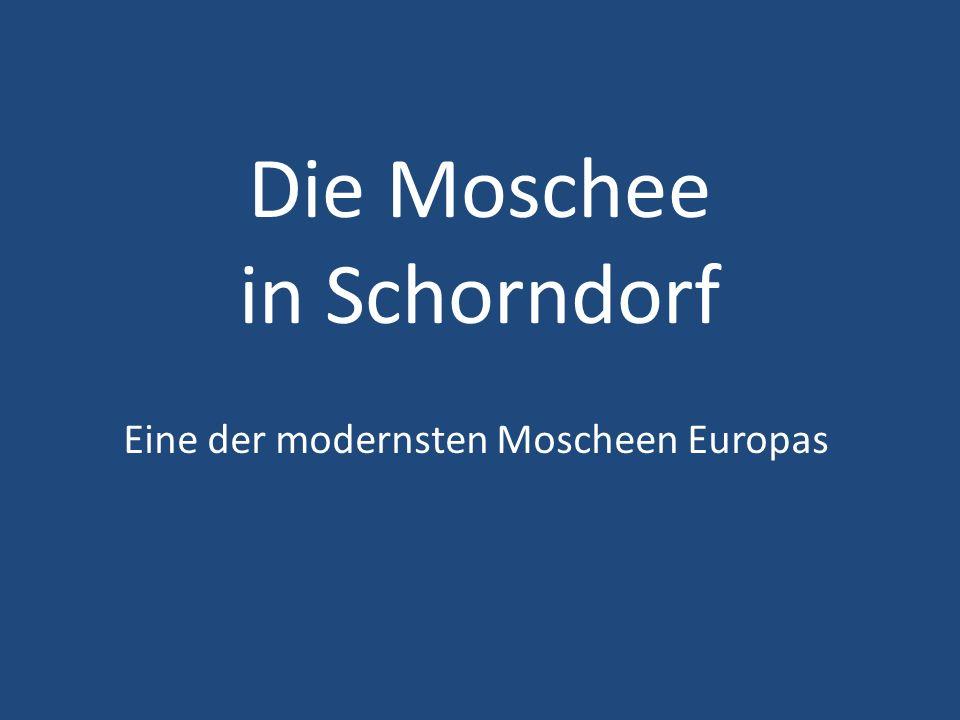 Die Moschee in Schorndorf