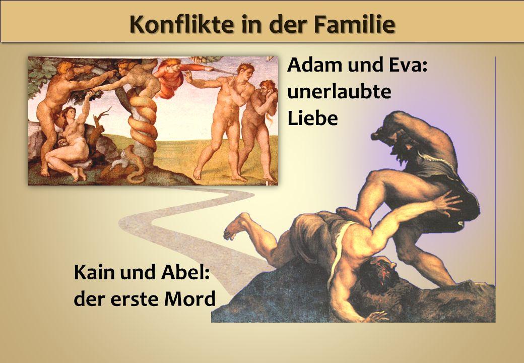 Konflikte in der Familie