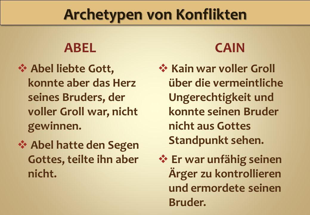 Archetypen von Konflikten