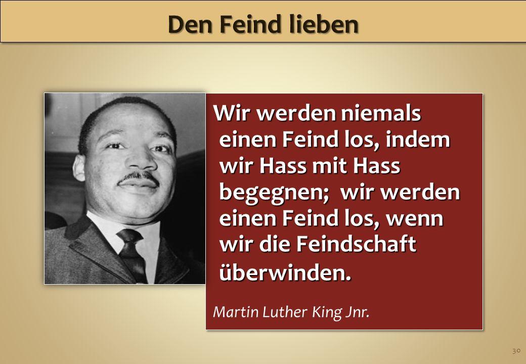 Den Feind lieben 2017/3/31.