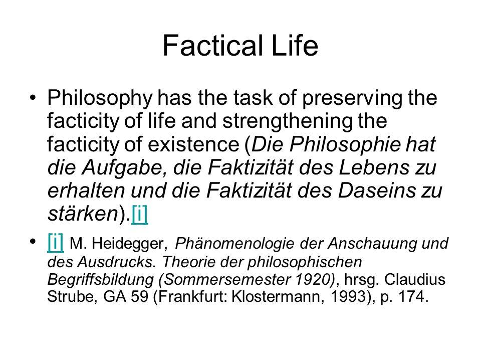 Factical Life
